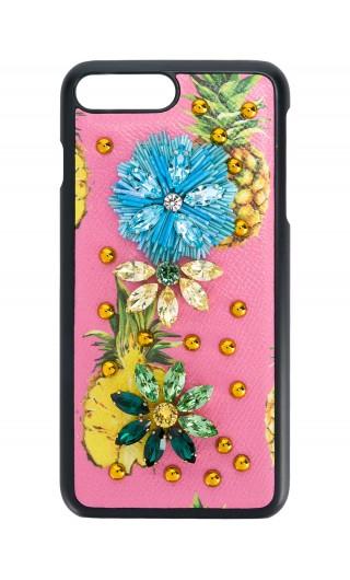PHONE CASE 6G PLUS DAUPHINE ST.FRUTTA E FIORI