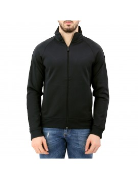 FELPA ML FULL ZIP STUD MANICHE