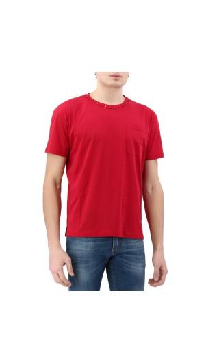T-Shirt mm giro slim c/taschino