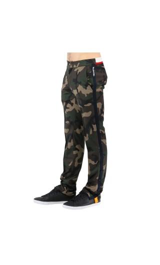 Pantalone camouflage banda laterale