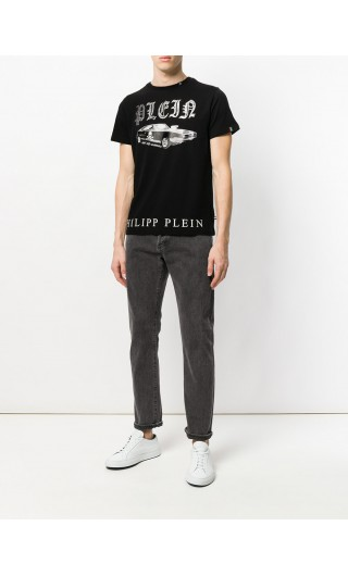 T-Shirt mm giro Sam Smith