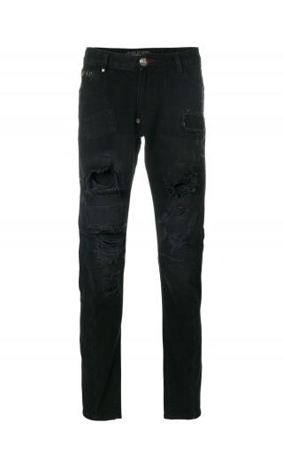 Jeans Milano cut Plein ass