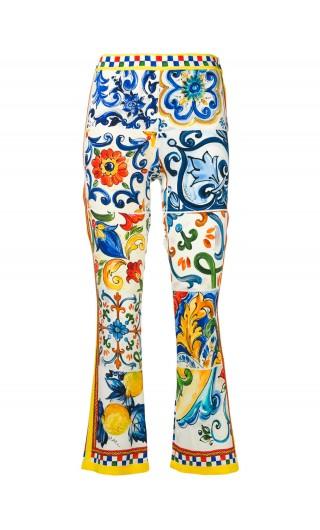 Pantalone charm. st.maioliche