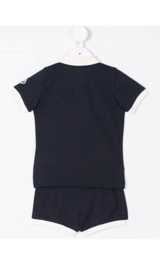 Completo polo mm + pantaloncino piquet