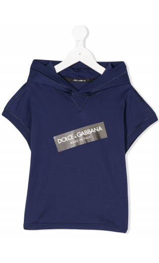 T-shirt ml c/cappuccio Dolce & Gabbana