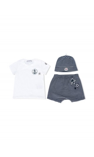 SET T-SHIRT MM + BERMUDA + CAPPELLO