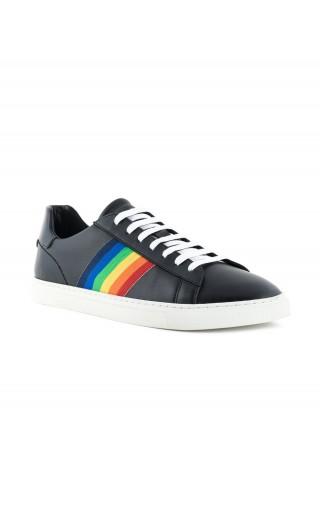 Sneakers new tennis vitello + nastro
