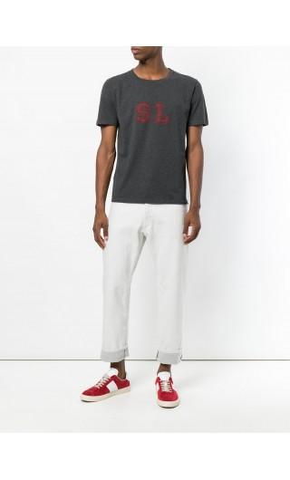 T-Shirt mm giro stampa SL