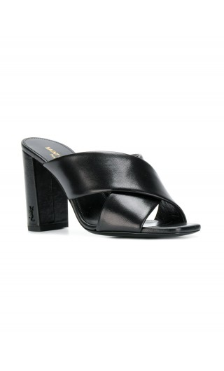 Sandalo tacco alto pelle