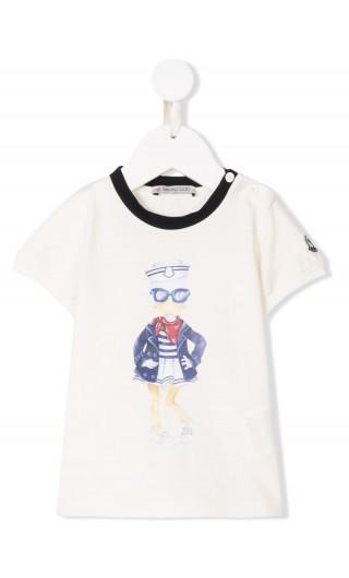 T-Shirt mm giro stretch stampa