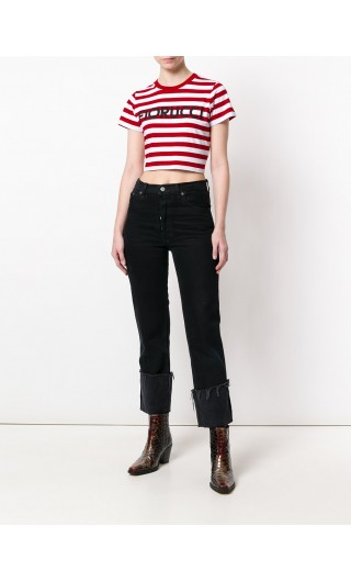 T-Shirt mm Cropped