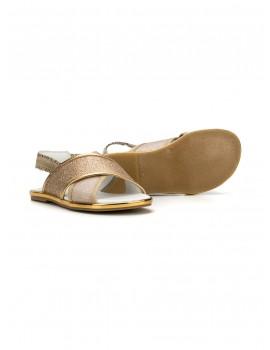 Sandalo fasce incrociate