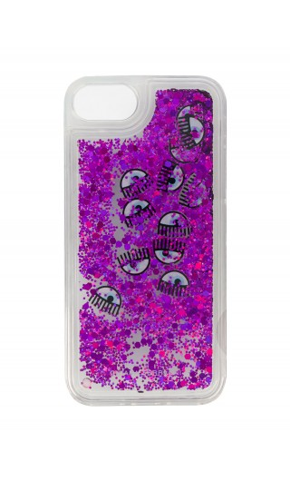 COVER IPHONE C/LIQUIDO E GLITTER