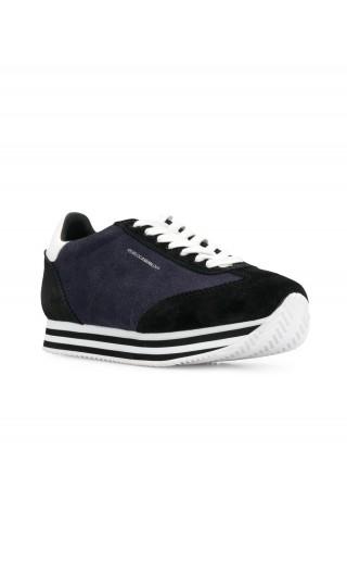 Sneakers pelle / suede