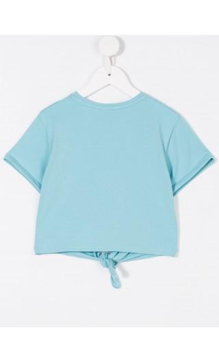 T-Shirt annodata c/ricamo