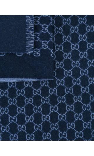 Sciarpa doppia lana jacq.mot. GG