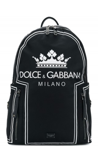Zaino nylon + vit.bottolato DG Milano