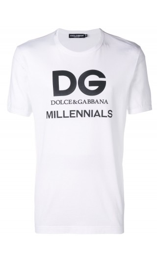 T-Shirt mm giro D&G Millennials