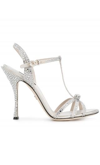 Sandalo raso + termo strass