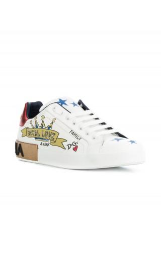 Sneakers nappa st.specchi royal love
