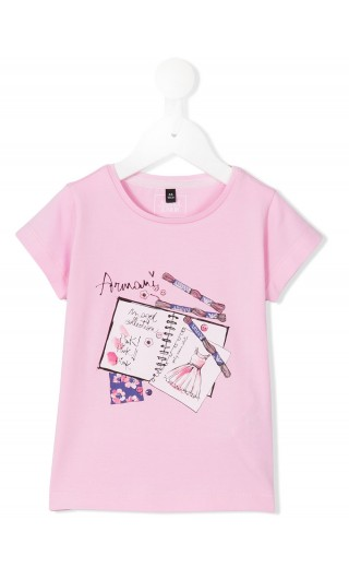 T-SHIRT MM STAMPA GOMMATO