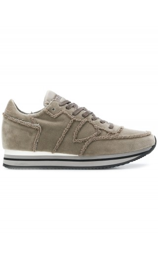 Sneakers Tropez higher velour