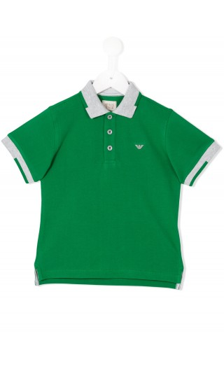 POLO MM PIQUET COLLO C/LOGO