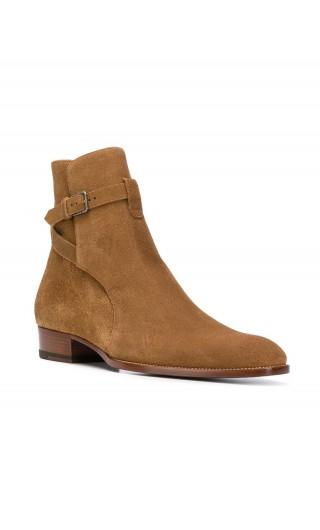 Stivaletto Jodhpur c/cinturino caviglia