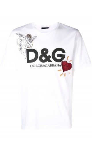 T-Shirt mm giro D&G Cupido
