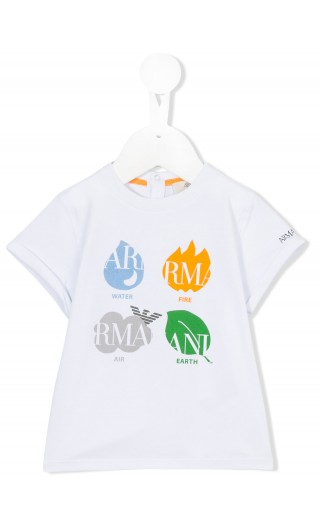 T-SHIRT MM STAMPA LOGO
