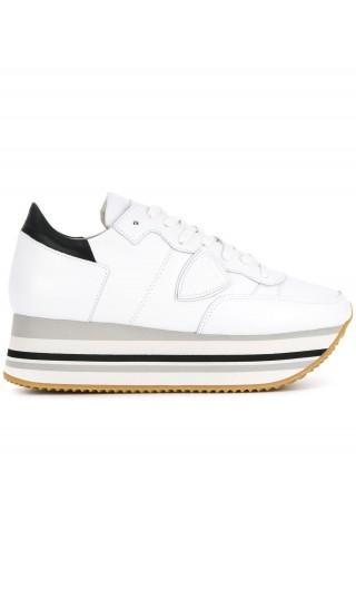 Sneakers Eiffel veau