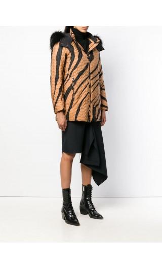 Piumino macro zebra