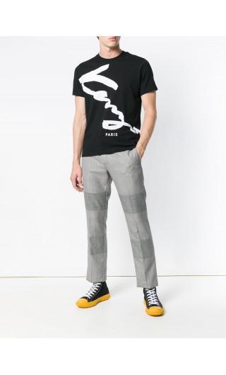 T-Shirt mm giro logo Kenzo