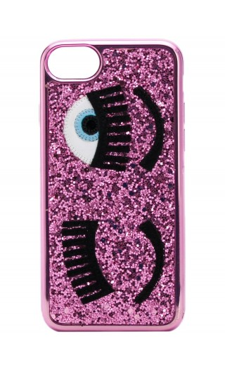 Cover Iphone S6 - S7 - S8 glitter flirting