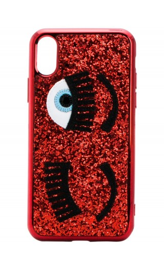 Cover Iphone X glitter flirting
