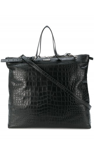 Shopping bag pelle st.coccodrillo