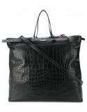 Shopping bag pelle st.coccodrillo