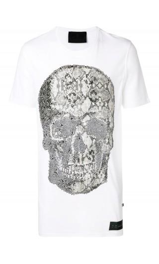 T-Shirt mm giro Python Skull