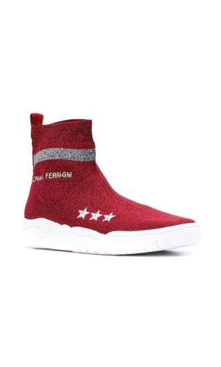 Sneakers sock lamnata