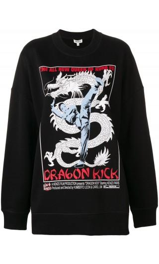 Felpa ml oversize Dragon Kick