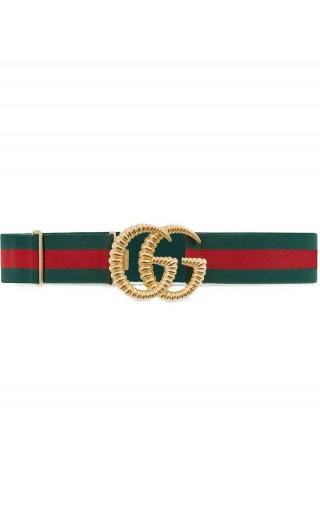 Cintura Web elasti.to fibbia Doppia G