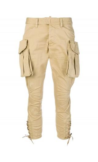 Pantalone twill military