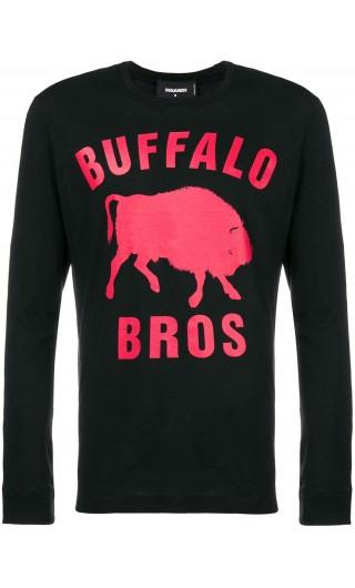 T-Shirt ml giro st.Buffalo Bros