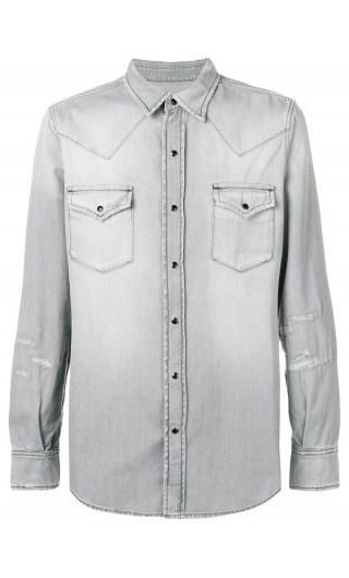 Camicia ml denim classica