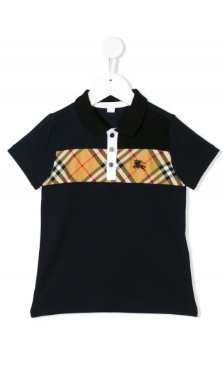 Polo mm inserto Vintage check