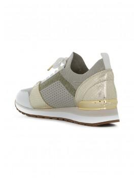Sneakers Billie in maglia metallizzata