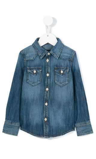 CAMICIA ML DENIM