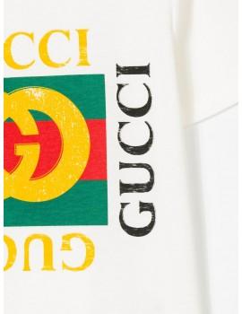 c3667d10 T-SHIRT MM GIRO LOGO VINTAGE GUCCI