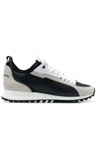 Sneakers vitello sport + velour