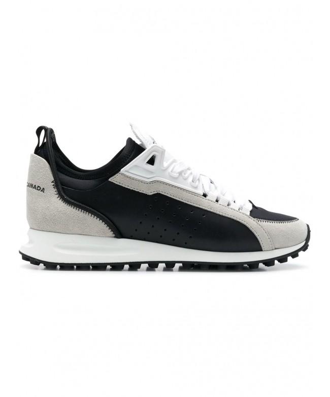 Sneakers vitello sport + velour